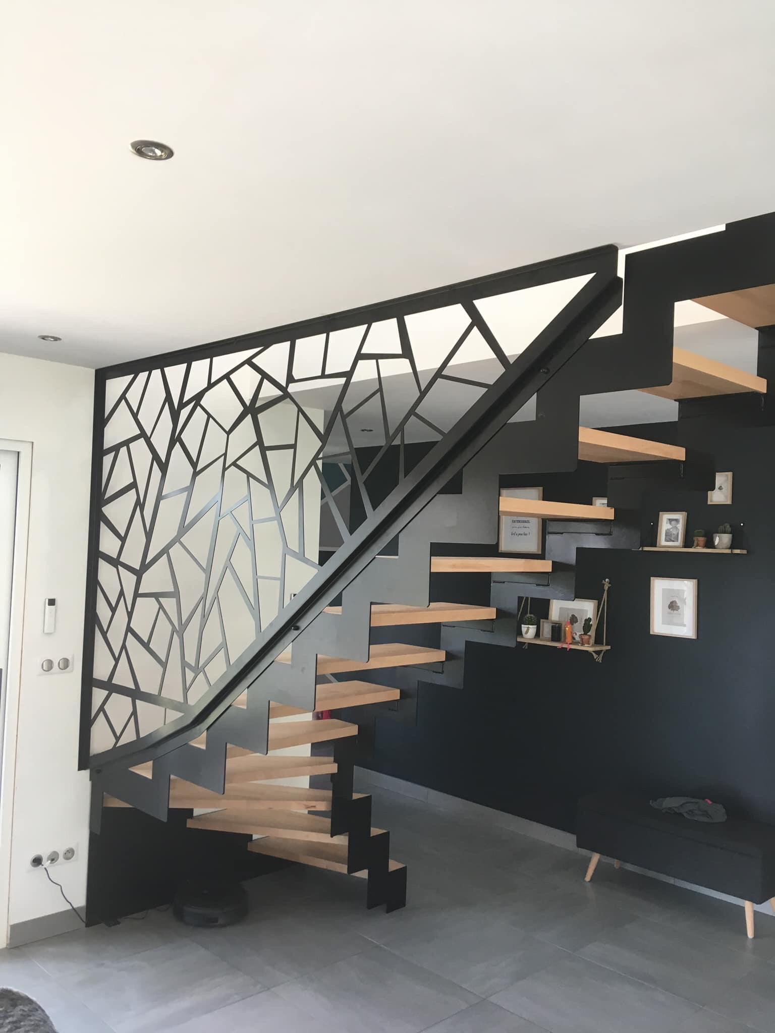 escalier design pont à mousson